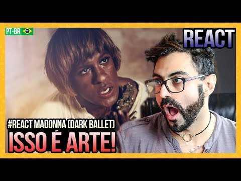 REAGINDO A Madonna - Dark Ballet (Official Music Video)