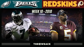 Vick's EPIC 6 Touchdown Game on MNF! (Eagles vs. Redskins 2010, Week 10)