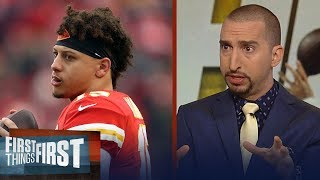 Cris and Nick's biggest keys for this weekend's Colts vs. Chiefs matchup | NFL | FIRST THINGS FIRST
