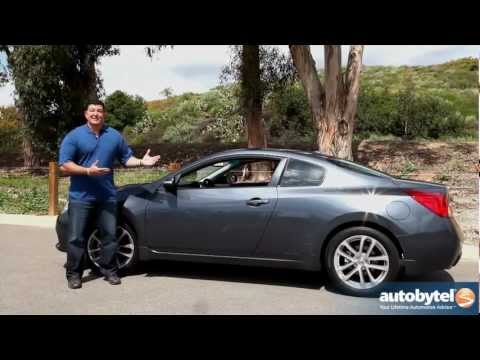 2012 Nissan Altima Coupe: Video Road Test and Review