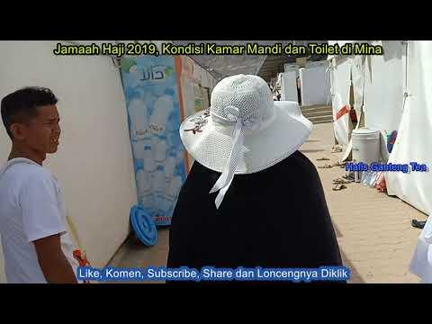 Jamaah Haji 2019, Kondisi Kamar Mandi dan Toilet di Mina