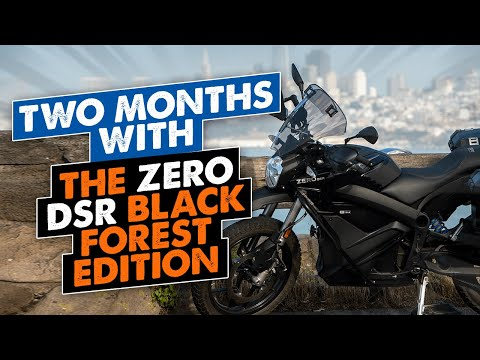 2021 Zero Motorcycles DSR ZF14.4 in Shelby Township, Michigan - Video 1