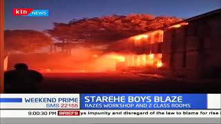 Starehe Boys Inferno: Red Cross confirms that no injuries occurred ;Most students on half term break