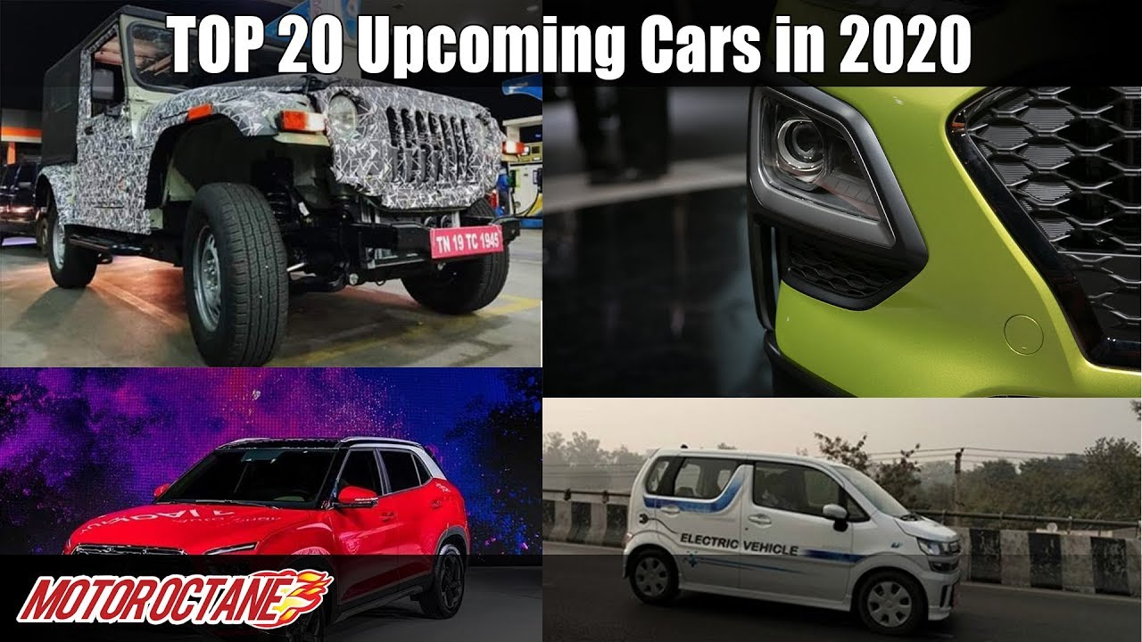 Motoroctane Youtube Video - Top 20 upcoming cars in 2020 in India | Can't Miss | Hindi | MotorOctane