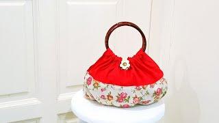 How To Make A Super Cute Handmade Bag | 可爱圆环手提包【Daiso Japan】❤❤