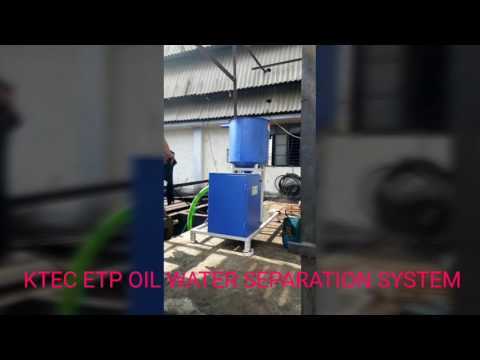 KTEC ETP Tanks Tramp Oil Removal Systems