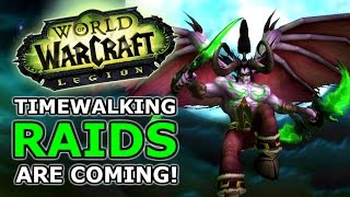 Timewalking Black Temple Raid Is Coming: World of Warcraft Legion 7.2.5
