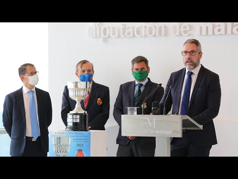Presentación de la LXXXI Copa Iberia de Golf