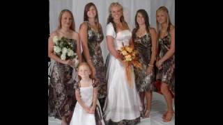 Camo Formal Wedding Hot New Fashion Show