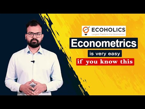 Econometrics is very easy if you know this   How to study Econometrics   Concepts of Econometrics