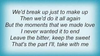 Terri Clark - The Good Was Great Lyrics
