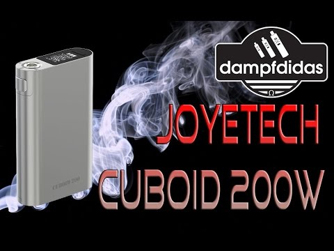 YouTube Video zu Joyetech Cuboid 200 Akkuträger 200 Watt
