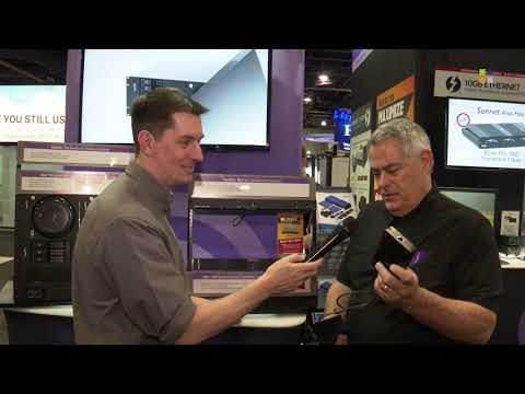 Mac Mini support from Sonnet Technologies at NAB 2019