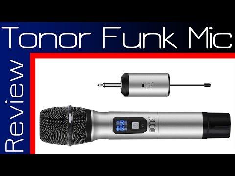 Tonor Funk Mikrofon Test | Review |TechBoss11 | 2018