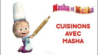 Masha et Michka - Cuisinons avec Masha! 🍔
