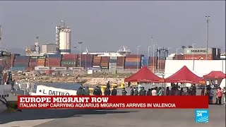 """Aquarius boat arrives in Spain: """"Most of the migrants have experienced extreme violence"""""""