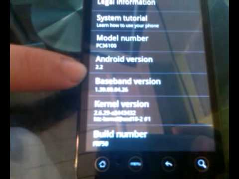 """Android 2.2 """"Froyo"""" Ported To HTC EVO 4G"""