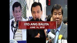 UNTV: Ito Ang Balita (June 14, 2018)