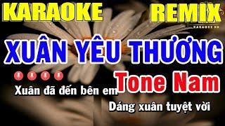 karaoke-xuan-yeu-thuong-remix-tone-nam-nhac-song-trong-hieu