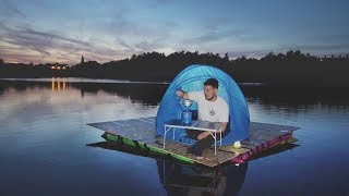I Went Camping in a Floating Tent on a Lake & It Was Fun Until This Happened…