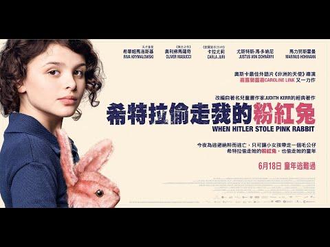 希特拉偷走我的粉紅兔電影海報