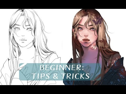 digital art tips and tricks for beginners by jyundee