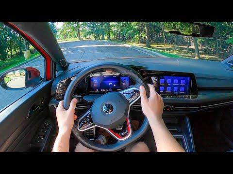 2022 Volkswagen Golf GTI - POV Test Drive (Binaural Audio)
