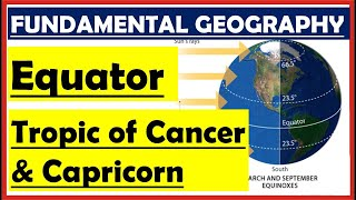 Geography Lecture 2- Equator, Tropic of Cancer, Tropic of Capricorn for NDA, UPSC|| Mayur Dhokchaule