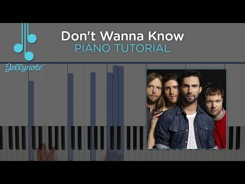 Let Her Go By Passenger Easy Piano Chords Tutorial With Pgn Piano