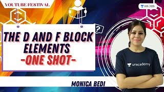 The d and f Block elements in ONE shot | Class 12 Chemistry | Unacademy Class 11&12 | Monica Bedi |  RAJYA SABHA DY CHAIRMAN HARIVANSH NARAYAN BREAKS HIS ONE-DAY FAST | DOWNLOAD VIDEO IN MP3, M4A, WEBM, MP4, 3GP ETC