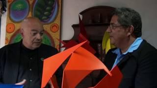 Rolando Quero conversa con Hernan Moreno en Arte final 2016