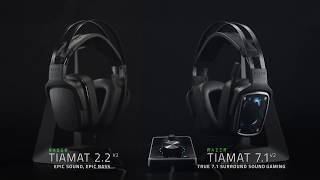 Новая мощнейшая игровая гарнитура Razer Tiamat V2