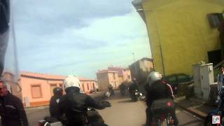 preview picture of video 'moto sardinia (Alghero/Scala Piccada - Monteleone Rocca Doria)'