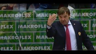 Олег Знарок материт судью. ЧМ Хоккей Россия - США