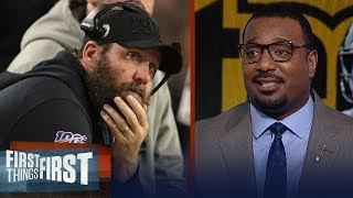 The Steelers' organization is praying Big Ben will retire — Chris Canty | NFL | FIRST THINGS FIRST