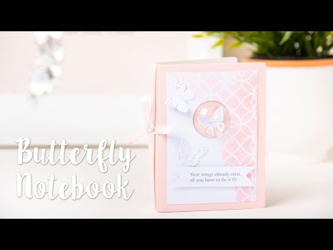 How to Create a Butterfly Notebook - Sizzix