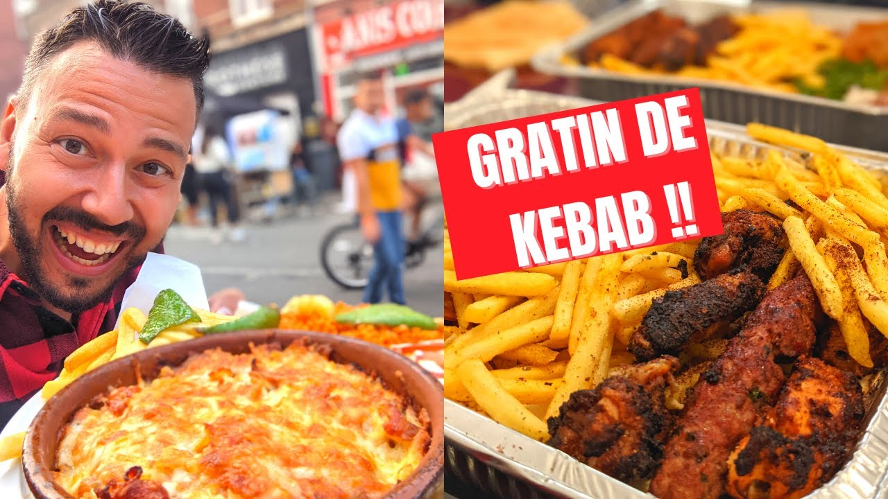 Elle fait un GRATIN de KEBAB à Wattrelos! + Food Tour dans le Nord - VLOG 1200