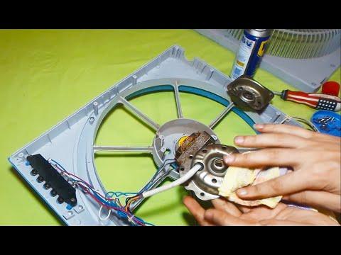 اصلاح موتور مروحة بدون تكلفة وكفائة عالية ا هيثم سعيد