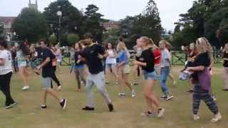 preview picture of video 'FlashMob in Bournemouth - IP Dance 2014'