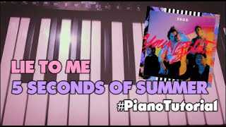 lie to me 5sos piano sheet music - TH-Clip