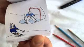 Fanoušek vytvořil pěknou animaci jak dal Vladimir Tarasenko v NHL krásný gól !