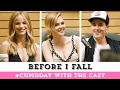 Before I Fall | Q & A with Zoey Deutch, Halston Sage, Kian Lawley & More | #CupidDay