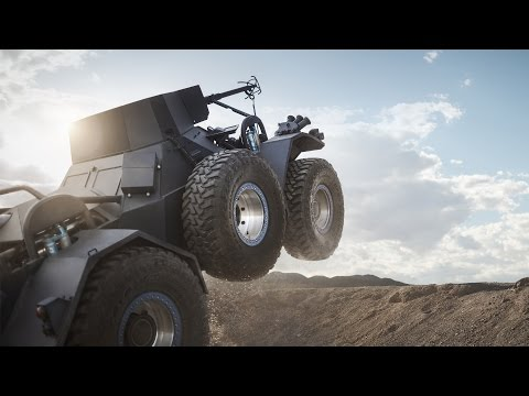 Bj Baldwin Drives Mini Tank In Gymkhana Style For Toyo Tires Commercial Autoevolution