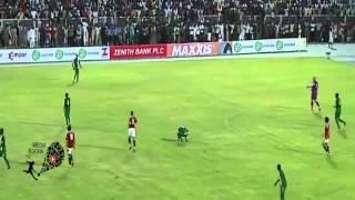 اخر دقائق من مبارة نيجيريا ومصر 1-1 + هدف صلاح وانفرارده وصافرة الحكم كامل