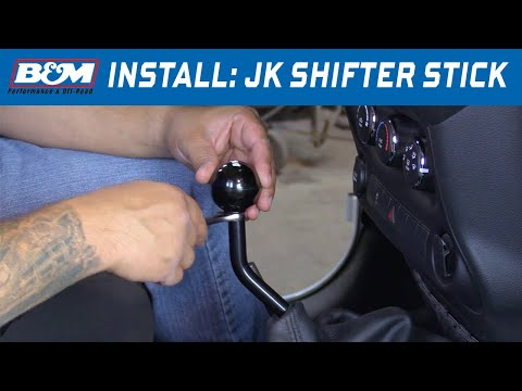 Install: 2005-18 Jeep Wrangler TJ, JK 6-spd Manual Shifter Stick 46200