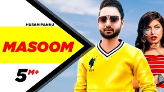 Masoom (Official Video) | Husan Pannu |  Latest Punjabi Songs 2020 | Speed Records