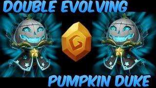 Double Evolving Pumpkin Duke 8/8 Berserk Castle Clash
