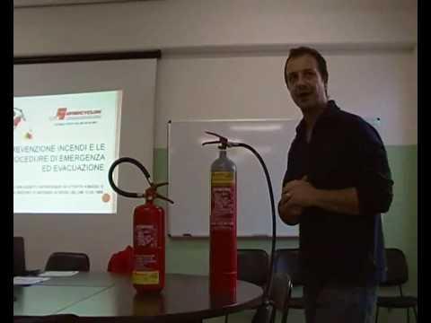 Corso antincendio in aula 1(Studio Synthesis)