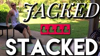 Jacked & Stacked ARMS AND BACK workout by Trainer Ben