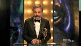 Christoph Waltz Bafta acceptance speech